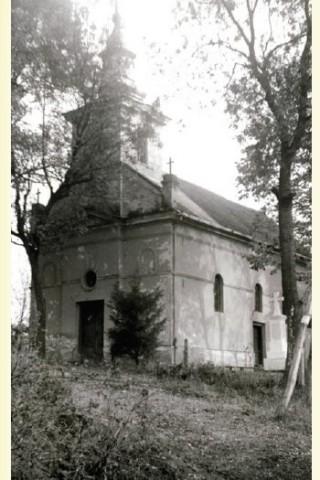 Biseica ortodoxă din Nadăş la 1898. Sursă foto: Vasile Traia, Vasile D. Suciu - Nadăş. Repere istorice, Eurostampa, 2011.