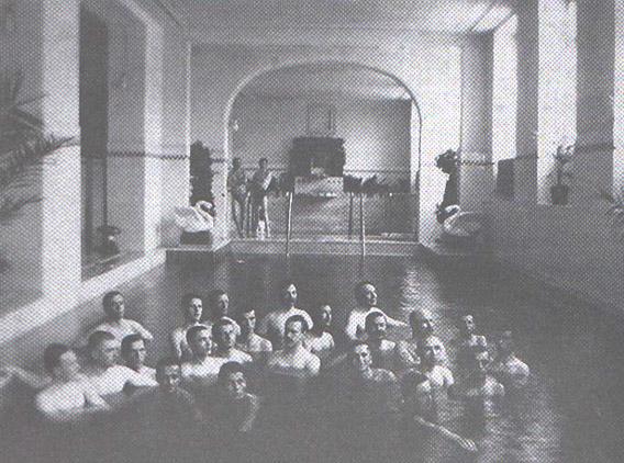 The swimming pool of the Neptun Baths in 1915/ Photo: druckeria.ro