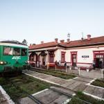 Der Bahnhof von Oravița