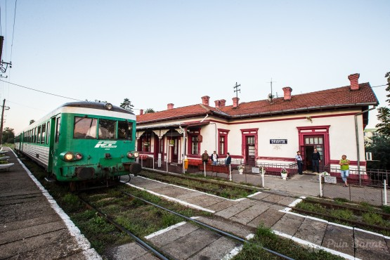 The Oraviţa train station